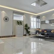 精致客厅地板砖