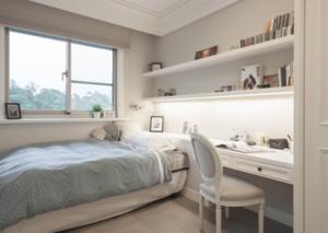 纯白色唯美卧室