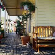 清新亮丽的阳台设计