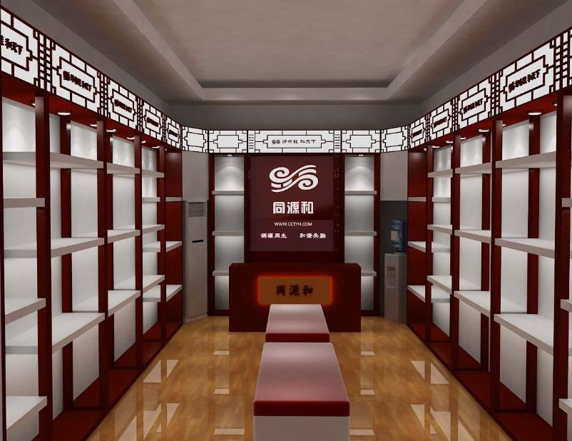 大型博物馆 珠宝展柜设计装修效果图 齐装网装