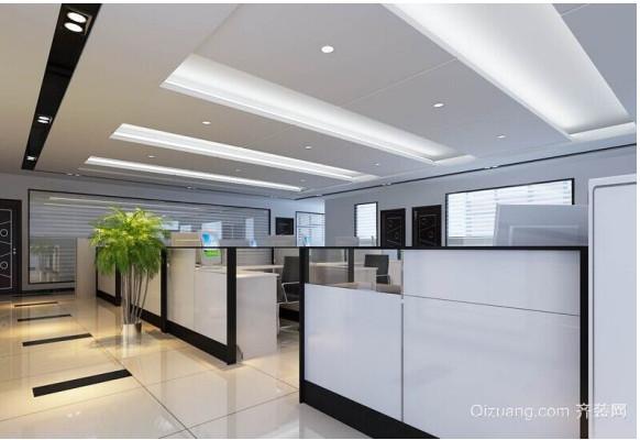 2015日式办公室装修效果图