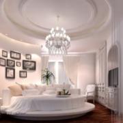 纯白卧室效果图