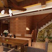 精致室内设计楼梯装修