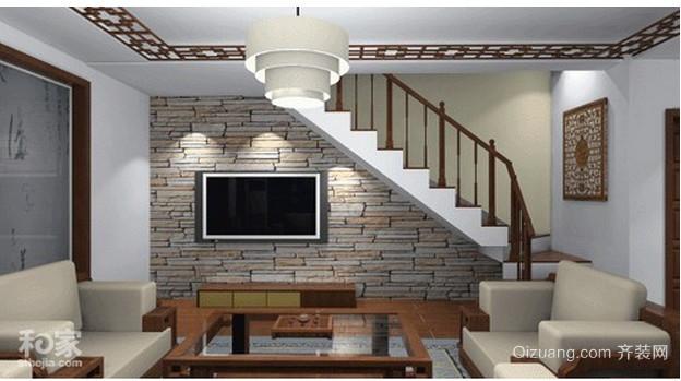 2015中式楼梯装修效果图