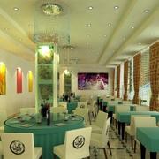 经典餐厅装修效果图
