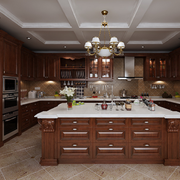 大户型家庭开放式厨房