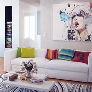 经典沙发背景墙