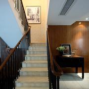 宽窄适中的楼梯设计