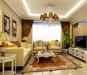 欧式客厅地板砖