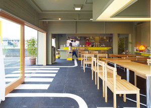 时尚猫屎咖啡店设计装修效果图