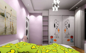 宝宝的世界100㎡恬静儿童房装修效果图大全