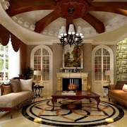 精致完美的客厅吊顶