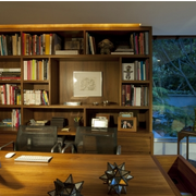 舒适沉稳的书房设计
