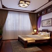 中式精致卧室装修