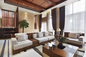 2015精美东南亚客厅装修效果图