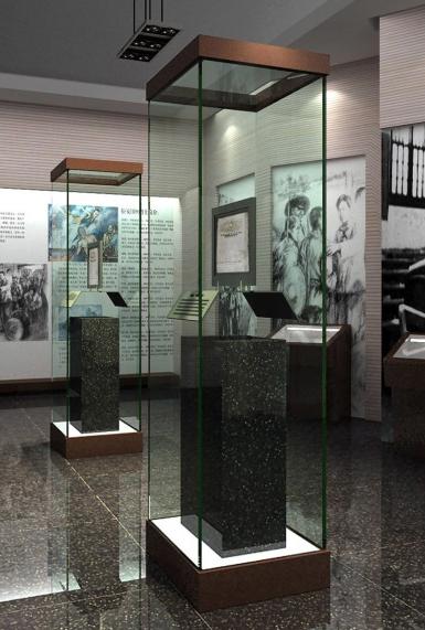 大型 博物馆 珠宝 展柜 设计装修效果图 齐装网装