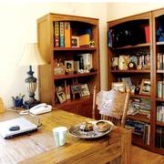 色调温和书房装修效果图
