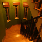 精装楼梯灯光设计