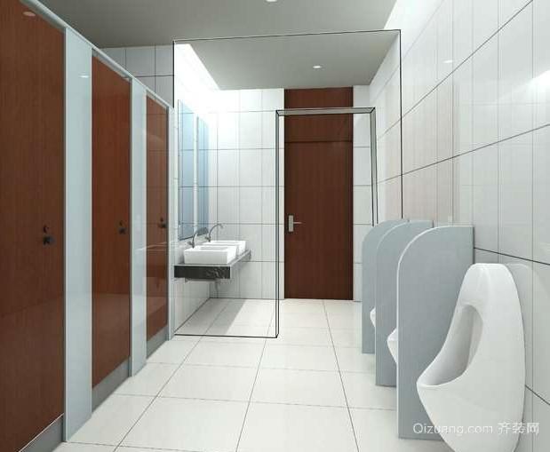地中海风格大户型洗手间设计装修效果图