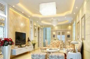 富丽堂皇的客厅