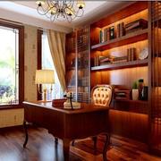 温暖书房装修效果图