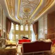 高贵法式客厅