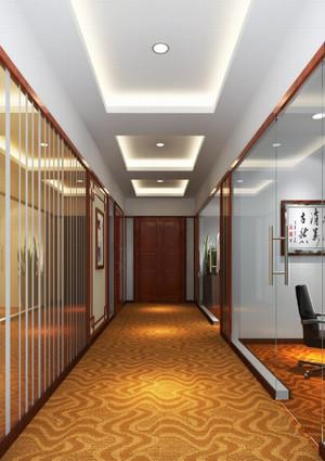 自建别墅空中玻璃走廊吊顶装修效果图