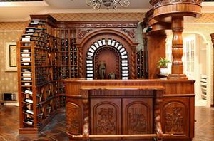 设计独特的酒柜