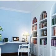 唯美书房装修效果图