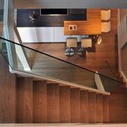 现代都市楼梯扶手