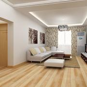 淡色欧式客厅