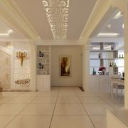 明亮精致的客厅设计