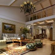 舒适的豪华客厅设计