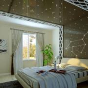 唯美卧室背景墙设计