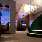 精装大厅楼梯设计