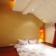 温暖卧室装修效果图