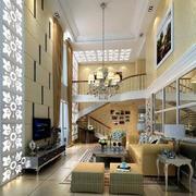 欧式大户型客厅装修