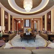中式客厅精致装修