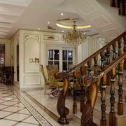 精致美式客厅设计