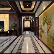 中式客厅过道设计