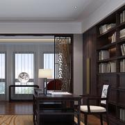 中式书房窗帘设计
