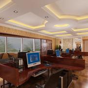 独特完美的办公室吊顶