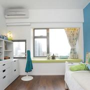 纯情白色卧室设计