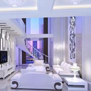 唯美色调客厅设计