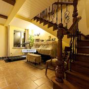 实木楼梯造型设计
