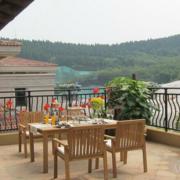 气氛温馨的家用阳台