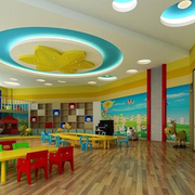 精致幼儿园装修效果图