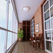 室内阳台走廊设计