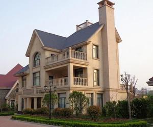农村三层别墅外观装修效果图