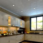 温馨的欧式厨房装修